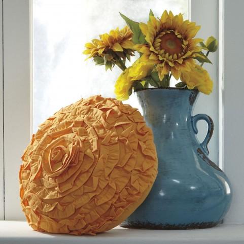 Saunder Orange Pillow Set of 4