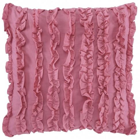 Ruffin Pink Pillow Set of 4