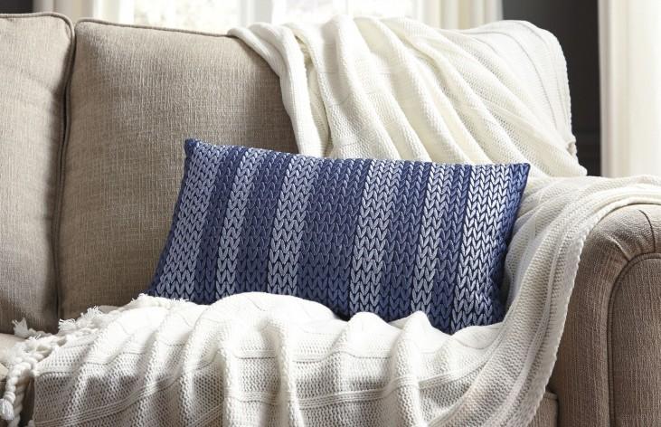 Shumpert Blue Pillow Set of 4
