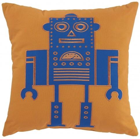 Willy Orange Pillow Set of 4