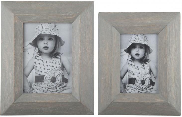 Cadewyn Gray Photo Frame Set of 2