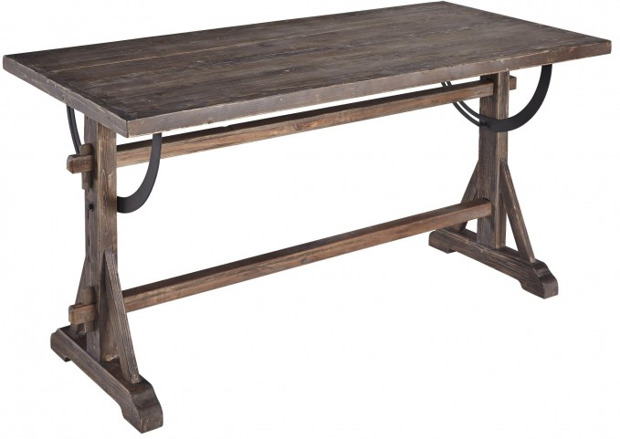 Maxwell Chargrey Dining Table/Desk