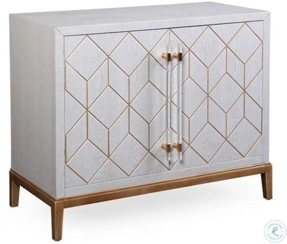 Perrine Soft Graphite Hospitality Cabinet