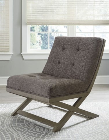 Sidewinder Taupe Accent Chair