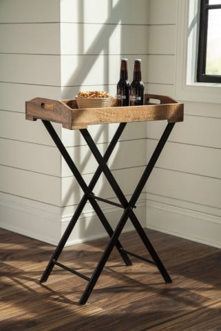 Cadocridge Brown Accent Table
