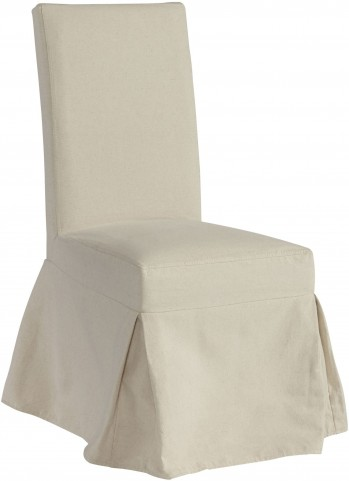 Miraculous Charlotte Off White Dining Chair Slipcover Set Of 2 Inzonedesignstudio Interior Chair Design Inzonedesignstudiocom