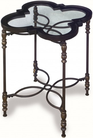 Sarah Metal Chairside Table