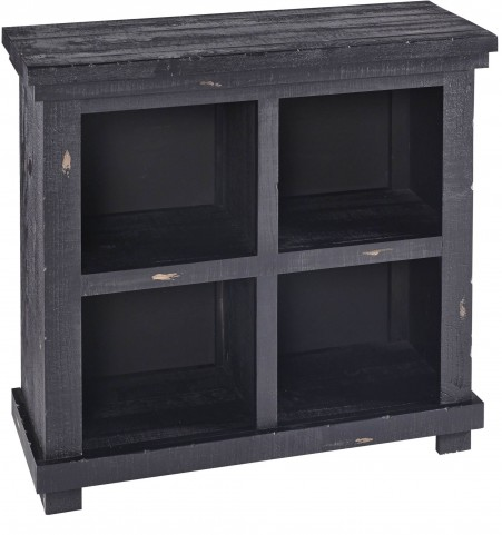 "Willow 32"" Black Bookcase"