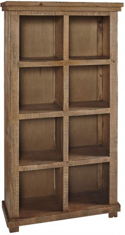 """Willow 64"""" Pine Bookcase"""