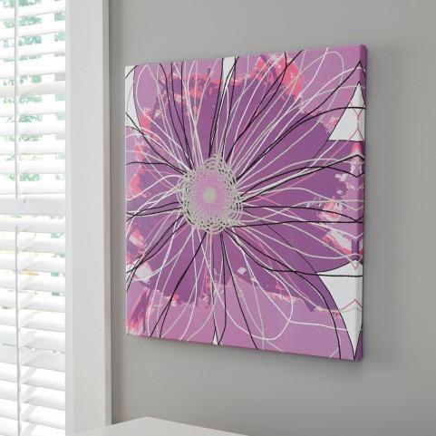 Berdina Purple Multi Wall Art
