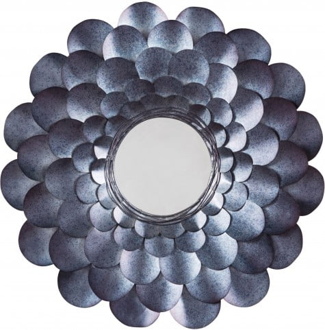 Deunoro Blue Accent Mirror
