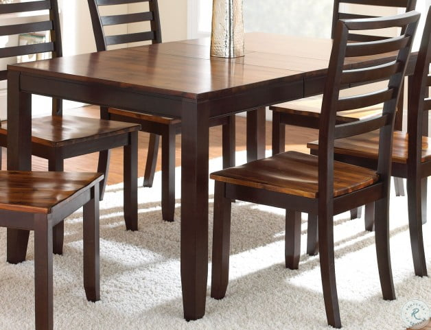 Abaco Cordovan Cherry Extendable Rectangular Dining Table From Steve Silver Ab300t Coleman Furniture