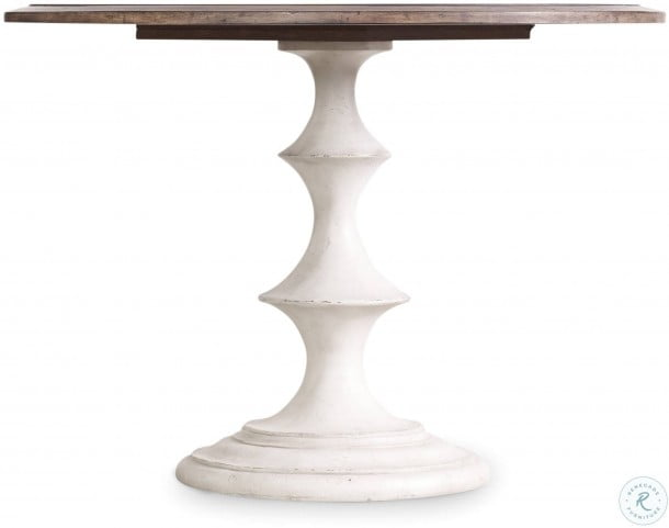 Melange White Brynlee 42 Round Dining Table From Hooker Coleman Furniture