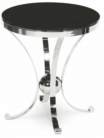 Accent Round Glass Table - VINE-28