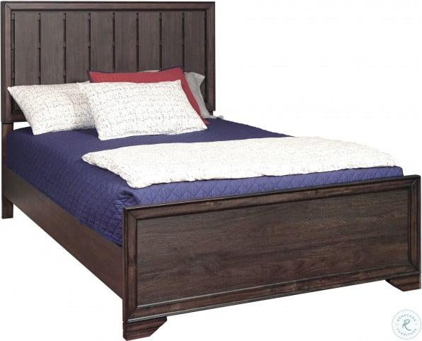 Granite Falls Espresso Brown Full Panel Bed