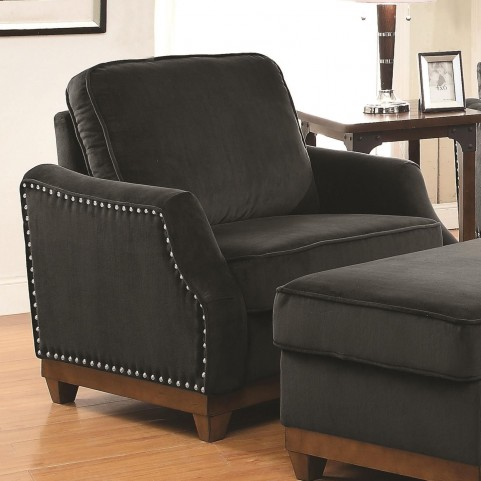 Acklin Charcoal Chair
