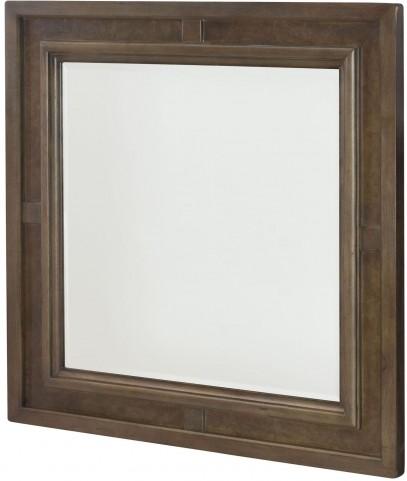 Park Studio Weathered Taupe Square Mirror