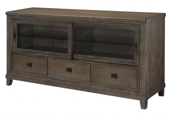 """Park Studio Weathered Taupe Entertainment Center 66"""" Console"""