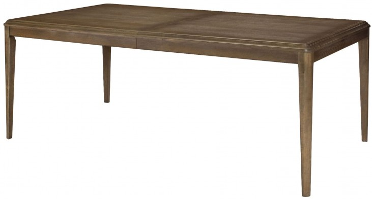 Park Studio Weathered Taupe Extendable Rectangular Dining Table