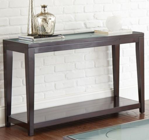 Arden Sandblasted Glass Sofa Table