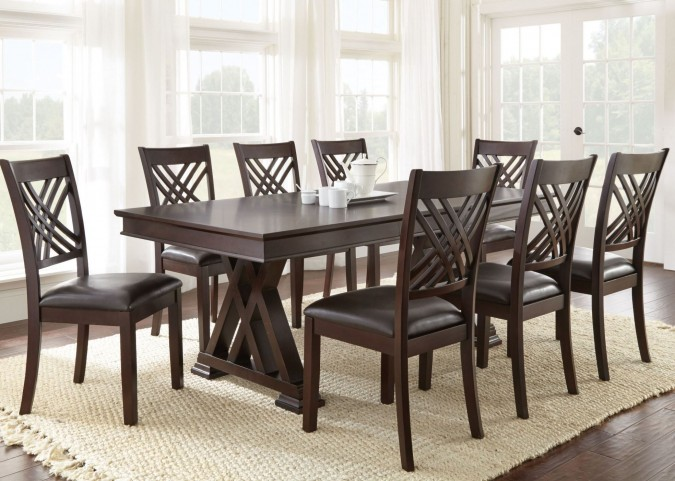 Adrian Extendable Rectangular Dining Room Set