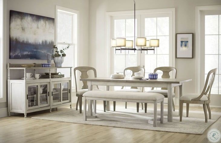 Litchfield 2 Tone Boathouse Dining Room Set