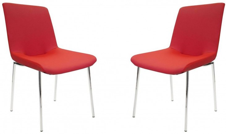 Aiden Red Dining Chair Set of 2
