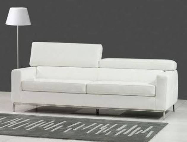 Alison White Sofa