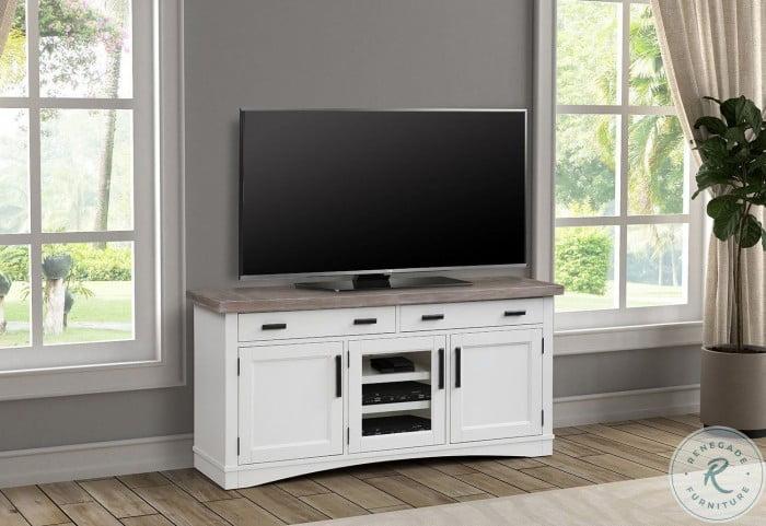 "Americana Modern Cotton 63"" TV Console"