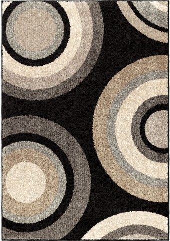 American Heritage Circles Roundtree Multi Large Area Rug