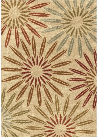 Orian Rugs Floral Floral Halley Multi Area Large Rug
