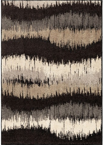 Orian Rugs Stripes Stripes Brushed Waves Multi Area Small Rug