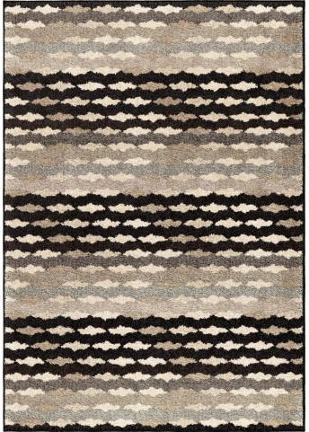 American Heritage Stripes Eureka Gray Small Area Rug