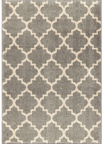 Orian Rugs Geometric Trellis Tunnis Gray Area Large Rug