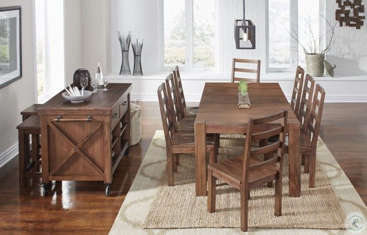 Anacortes Mahogany Kitchen Island From A America Coleman Furniture