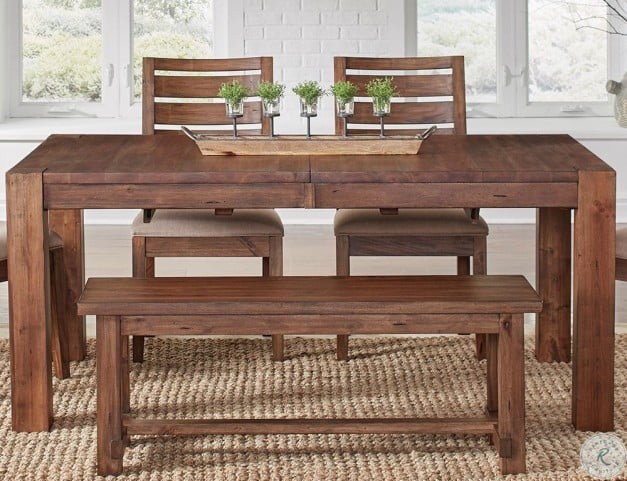 Anacortes Mahogany 90 Extendable Rectangular Leg Dining Table From A America Coleman Furniture