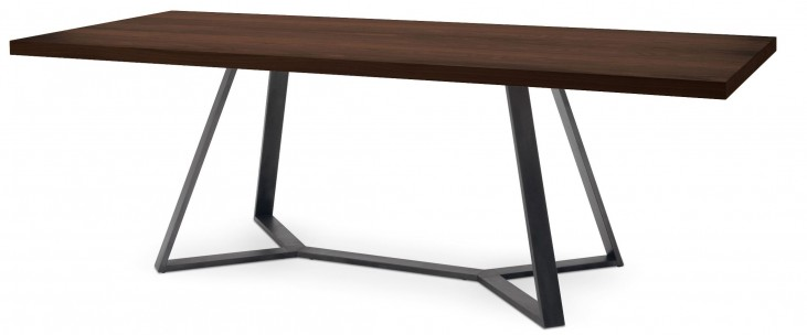 Archie Lacquered Steel Rectangular Dining Table