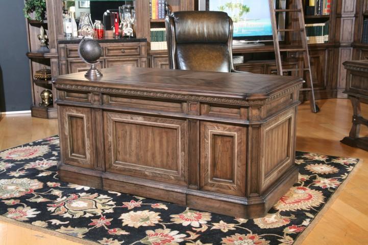 Aria Double Pedestal Executive Desk