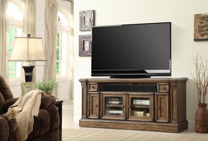 """Aria 68"""" TV Console With Power Center"""