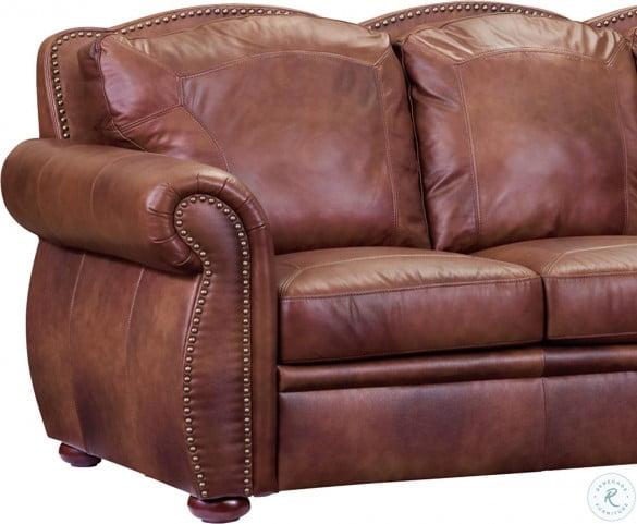 Arizona Marco Leather Loveseat