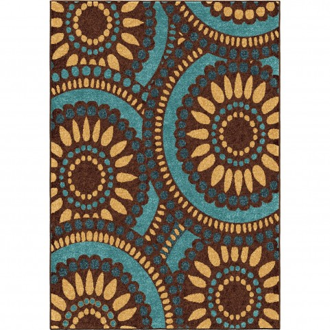 Merrifield Collage Yellow Large Rug