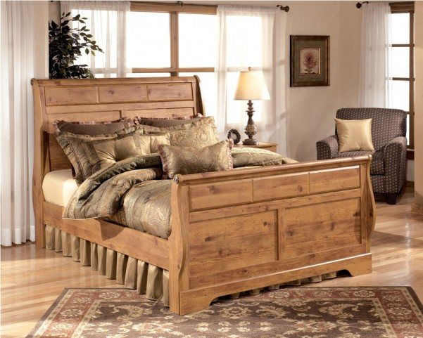 Bittersweet King Sleigh Bed
