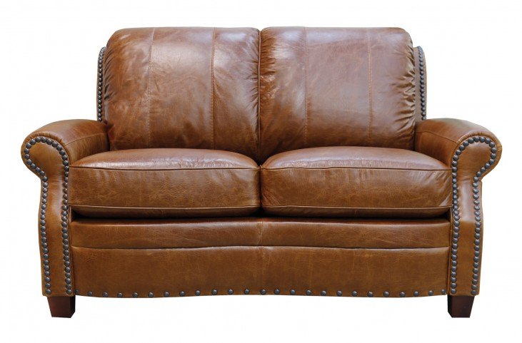 Strange Ashton Italian Leather Loveseat Caraccident5 Cool Chair Designs And Ideas Caraccident5Info