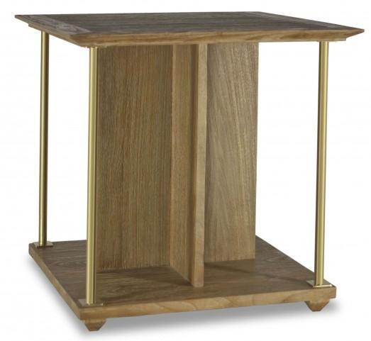Atherton Cerused Teak End Table