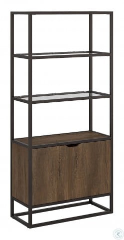 Anthropology Rustic Brown Shelf Bookcase