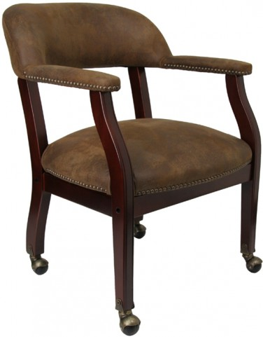 Bomber Luxurious Conference Chair with Casters
