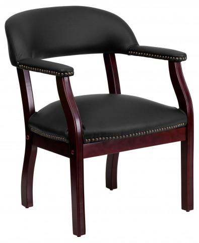 1000163 Black Vinyl Conference Chair