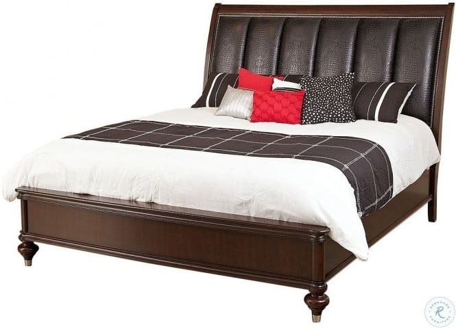 Dundee Place Upholstered Panel Bedroom Set From Avalon Furniture Coleman Furniture