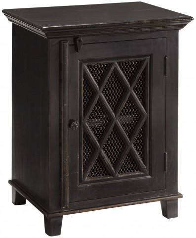 Charlowe Blacks Door Nightstand