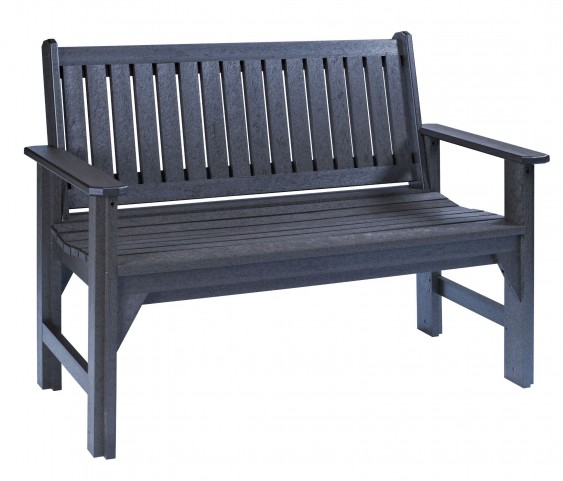 Generations Black Garden Bench